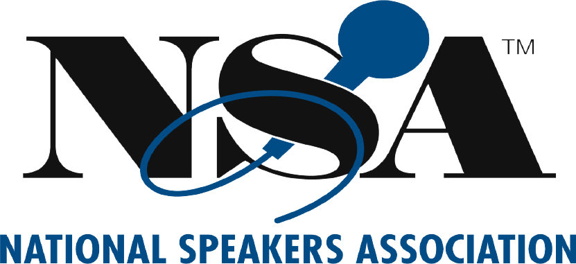 National Speakers Association logo - Rev It Up Reading Speed Course client