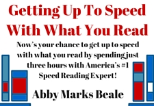 Getting Up To Speed With What You Read